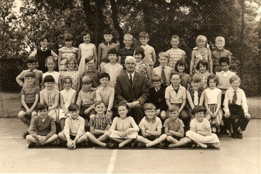 Children at Sawtry Junior School in 1964. Who can tell us all of their names?