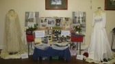 "The ""Wedding Days"" display at the Sawtry History Society Open Day."