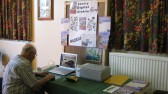 The Community Archive display at the Sawtry History Society Open Day.