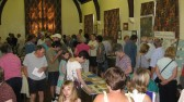 A very busy morning at the Sawtry History Society Open Day.