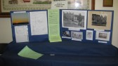 "The ""History of Conington Castles"" display at the Sawtry History Society Open Day."
