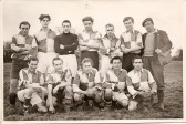 "A Sawtry Football Team, name on reverse ""Jakings BHS""?"