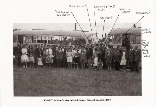 Sawtry to Mablethorpe Coach Trip around 1960