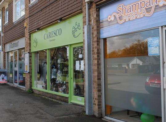 Carasco Charity Shop