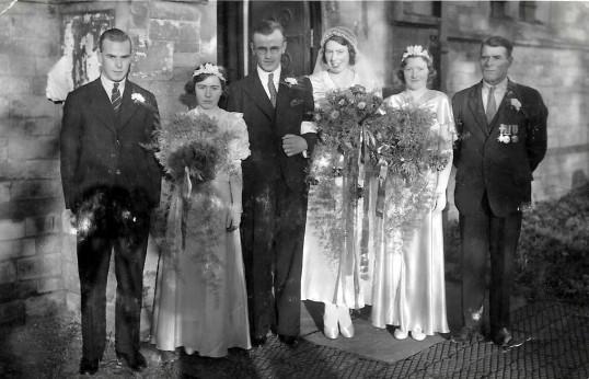 Anne's (Nancy) Wedding