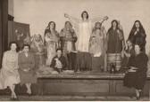 Women's Institute Nativity play, Soham. . Soham Women's Institute Nativity Play c. 1957