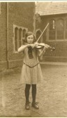 Mary Cater at the Church of England school, Clay Street, Soham.