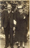 Henry Walter and Alice Maud Turner (nee Griggs) of Soham. Henry was the founder of Turner's haulage company.
