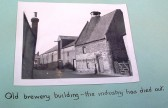 Old brewery building in Soham from the W I scrapbook. The caption says that the brewing industry has died out.