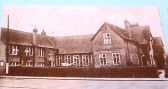Picture of the Old Grammar School from the Soham WI scrapbook.