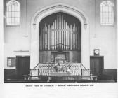 Interior of Soham Primitive Methodist Chapel at the time of it's centenary celebrations 1969. Chapel History
