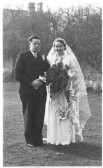 Leslie AJ Long and Eva M Leonard's wedding in the mar quarter 1938