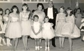 Mr/Mrs. Ted Day's Old Time Dance Class, Soham Central Hall. See text for names