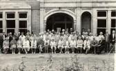 Soham Over-60's Club, outside the Walter Gidney Pavilion.