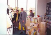 Official opening of the new Soham Library by HRH the Duke of Gloucester.