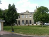 Once Soham Vicarage (St. Andrews House), recently converted to flats, built 1720 and enlarged in 1834.
