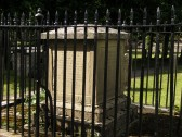 Another view of the D'Aye/Addison family tomb, nr. the entrance to Soham parish church.
