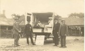 Entitled 'Soham Parade 1928' this shows the ambulance provided by voluntary contributions.