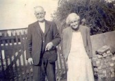 Joshua and Eliza Fletcher (nee Ashman), Soham Fen. He was a lay preacher. local postman and had a smallholding.