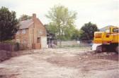 Demolition of Soham police station on Paddock St.