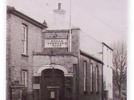Soham Comrades Club in the 1950's