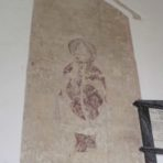 St. Andrew's, Soham - wall painting