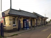 St Neots Railway Station after its 2008 facelift