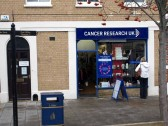 Cancer Research UK charity shop, Market Square, in November 2008