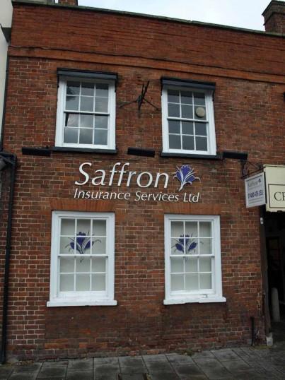 Saffron Insurance Services, St Neots Market Square, closed April 1st 2012