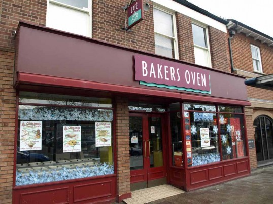 Bakers Oven in St Neots Market Square in November 2008