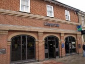 Lloyds Bank, St Neots Market Square, in November 2008