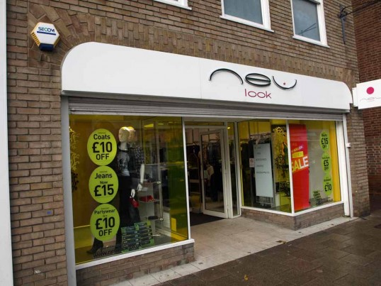 New Look Clothes Shop, Market Square, St Neots, in November 2008