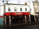 The Costa Coffee Cafe, St Neots High Street, had not long been open when this was taken in November 2008