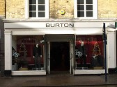 Burton's (mostly) gents clothes shop, St Neots High Street in November 2008