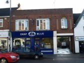 Deep Blue Fish and Chip Shop, High Street, St Neots in November 2008