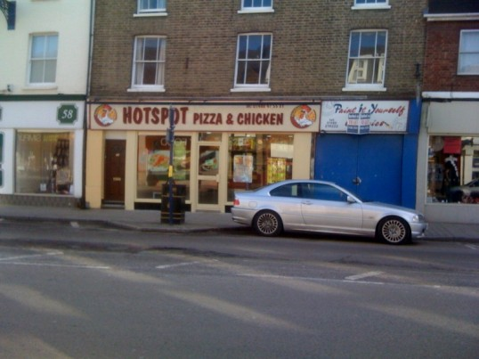 The Hotspot bakery completes its transition to the Hotspot Chicken and Pizza, 56 High Street, in February 2010