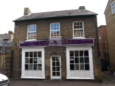 Nawab Lounge Indian Restaurant at 6 New Street, St Neots, in May 2010