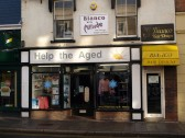 Help the Aged Charity Shop in St Neots High Street in November 2008