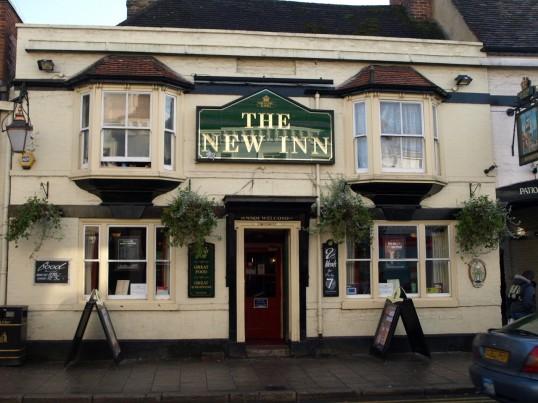 The New Inn, St Neots High Street in November 2008