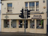 Allen Phillips Shoes & Accessories in St Neots High Street, in November 2008