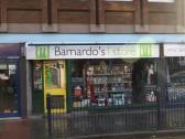 Barnardo's Charity Shop in St Neots High Street in November 2008