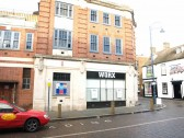 Worx Night Club and Bar, in St Neots Market Square, in November 2008, in the former job centre