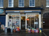 Fishers Hardware Shop on the south side of St Neots Market Square in November 2008