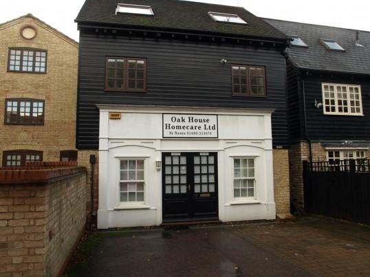 Oak House Homecare Ltd in November 2008 in Fishers Yard, off St Neots Market Square