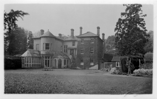 Back view of the Manor House, Great North Road, Eaton Socon, in the early 1960s.