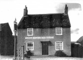 Bell Public House, Great North Rd, Eaton Socon built 1830's, demolished in the early 1930's