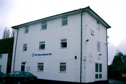 Granary built in the early 19th century, now CIE Offices, Ackerman Street, Eaton Socon in 2006