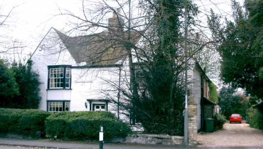 Elms Farmhouse, 111 Great North Rd, Eaton Socon, in April 2005, now a private house