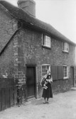 247 Great North Rd, Eaton Socon in 1938, behind Burleigh Cottages - now demolished