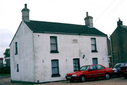 Lobelia Cottage, 100 St Neots Rd, in 2003 (built 1874)